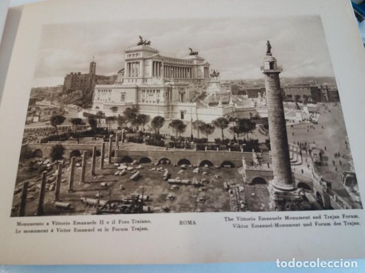 Libros antiguos: FABULOSO LIBRO DE FOTOLITOGRAFIAS ROMA 130 TAVOLE 100 AÑOS - Foto 25 - 237906240