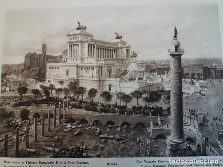 Libros antiguos: FABULOSO LIBRO DE FOTOLITOGRAFIAS ROMA 130 TAVOLE 100 AÑOS - Foto 26 - 237906240