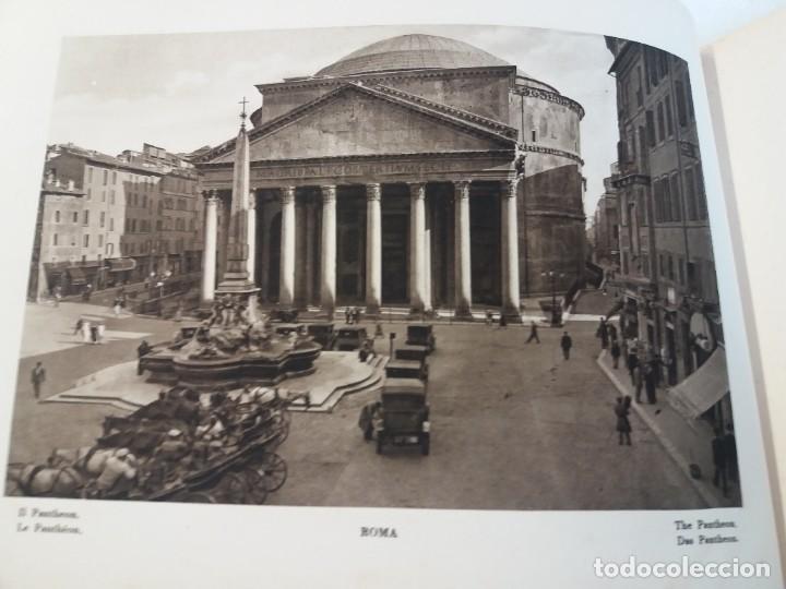 Libros antiguos: FABULOSO LIBRO DE FOTOLITOGRAFIAS ROMA 130 TAVOLE 100 AÑOS - Foto 27 - 237906240