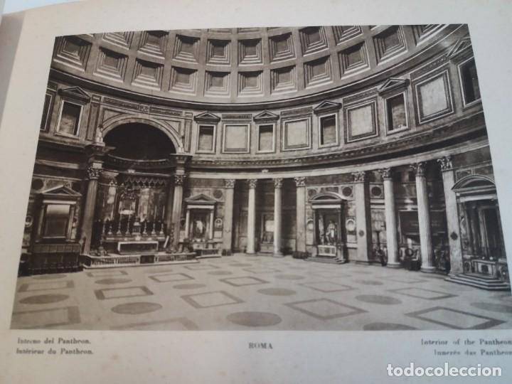 Libros antiguos: FABULOSO LIBRO DE FOTOLITOGRAFIAS ROMA 130 TAVOLE 100 AÑOS - Foto 28 - 237906240