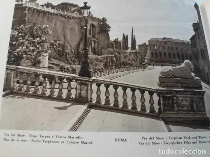 Libros antiguos: FABULOSO LIBRO DE FOTOLITOGRAFIAS ROMA 130 TAVOLE 100 AÑOS - Foto 31 - 237906240