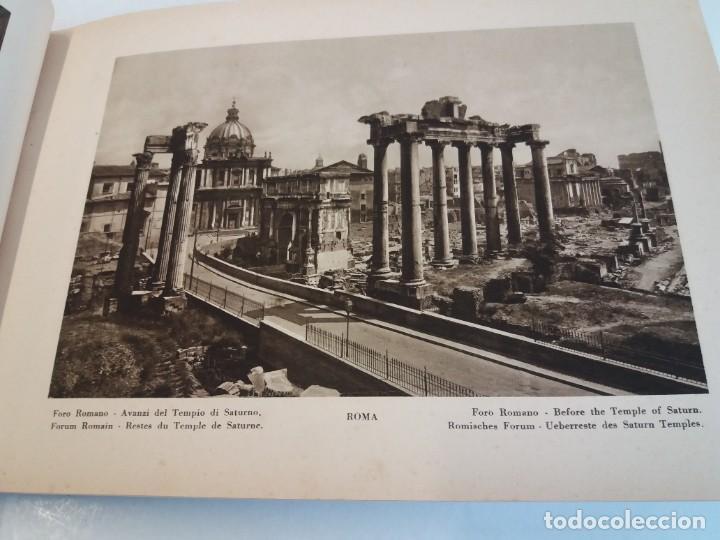 Libros antiguos: FABULOSO LIBRO DE FOTOLITOGRAFIAS ROMA 130 TAVOLE 100 AÑOS - Foto 32 - 237906240