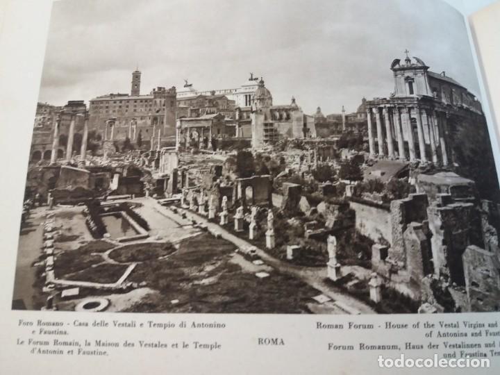 Libros antiguos: FABULOSO LIBRO DE FOTOLITOGRAFIAS ROMA 130 TAVOLE 100 AÑOS - Foto 33 - 237906240
