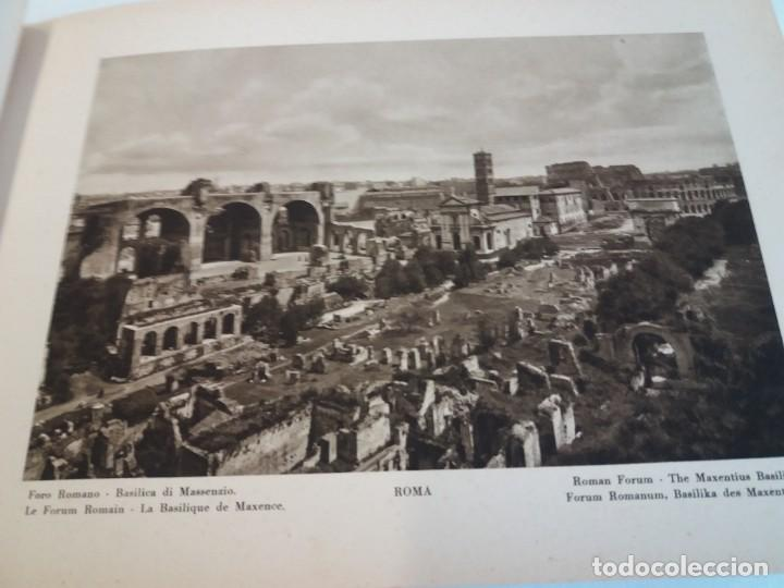 Libros antiguos: FABULOSO LIBRO DE FOTOLITOGRAFIAS ROMA 130 TAVOLE 100 AÑOS - Foto 35 - 237906240
