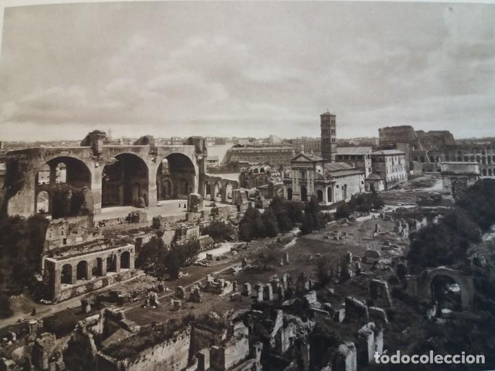 Libros antiguos: FABULOSO LIBRO DE FOTOLITOGRAFIAS ROMA 130 TAVOLE 100 AÑOS - Foto 36 - 237906240