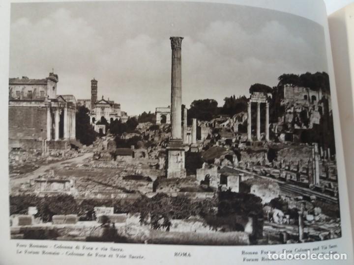 Libros antiguos: FABULOSO LIBRO DE FOTOLITOGRAFIAS ROMA 130 TAVOLE 100 AÑOS - Foto 37 - 237906240