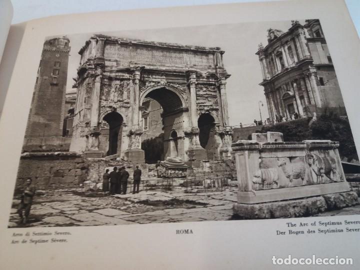 Libros antiguos: FABULOSO LIBRO DE FOTOLITOGRAFIAS ROMA 130 TAVOLE 100 AÑOS - Foto 38 - 237906240