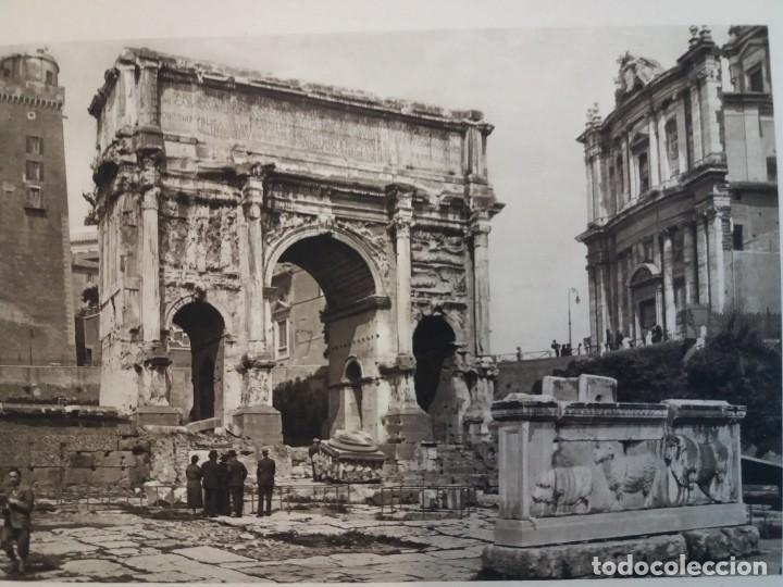 Libros antiguos: FABULOSO LIBRO DE FOTOLITOGRAFIAS ROMA 130 TAVOLE 100 AÑOS - Foto 39 - 237906240