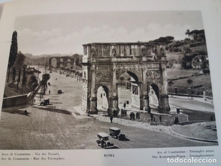 Libros antiguos: FABULOSO LIBRO DE FOTOLITOGRAFIAS ROMA 130 TAVOLE 100 AÑOS - Foto 41 - 237906240