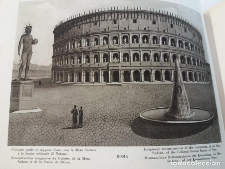 Libros antiguos: FABULOSO LIBRO DE FOTOLITOGRAFIAS ROMA 130 TAVOLE 100 AÑOS - Foto 44 - 237906240