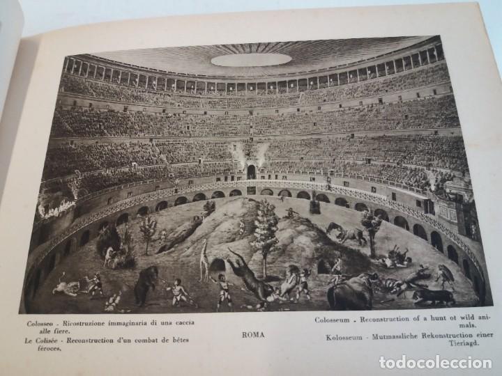 Libros antiguos: FABULOSO LIBRO DE FOTOLITOGRAFIAS ROMA 130 TAVOLE 100 AÑOS - Foto 45 - 237906240