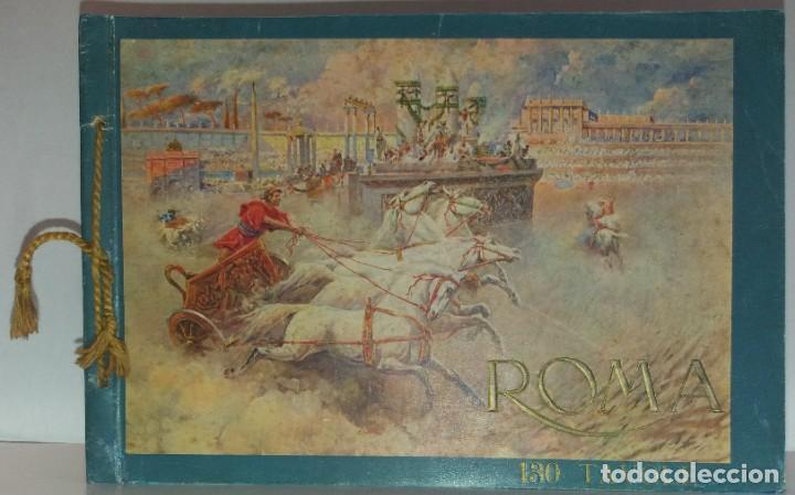 Libros antiguos: FABULOSO LIBRO DE FOTOLITOGRAFIAS ROMA 130 TAVOLE 100 AÑOS - Foto 46 - 237906240