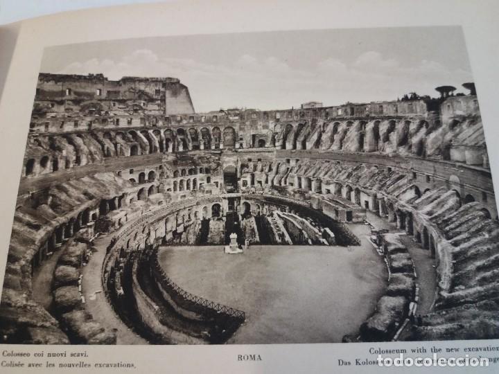 Libros antiguos: FABULOSO LIBRO DE FOTOLITOGRAFIAS ROMA 130 TAVOLE 100 AÑOS - Foto 48 - 237906240