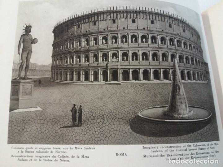 Libros antiguos: FABULOSO LIBRO DE FOTOLITOGRAFIAS ROMA 130 TAVOLE 100 AÑOS - Foto 49 - 237906240