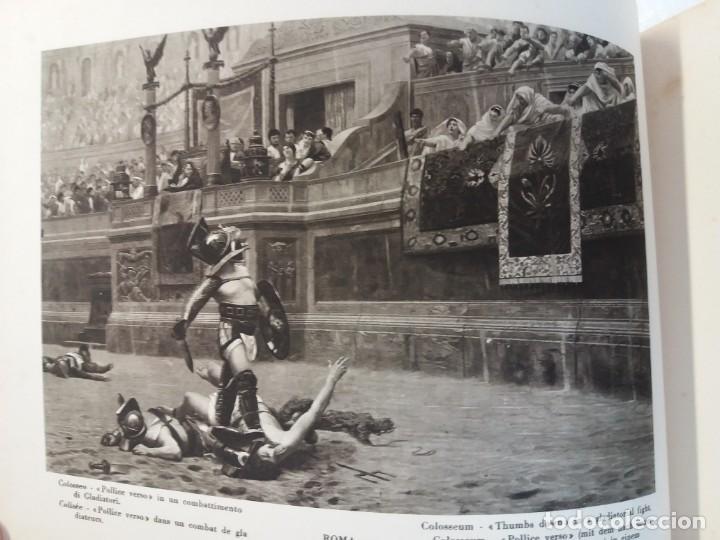 Libros antiguos: FABULOSO LIBRO DE FOTOLITOGRAFIAS ROMA 130 TAVOLE 100 AÑOS - Foto 52 - 237906240