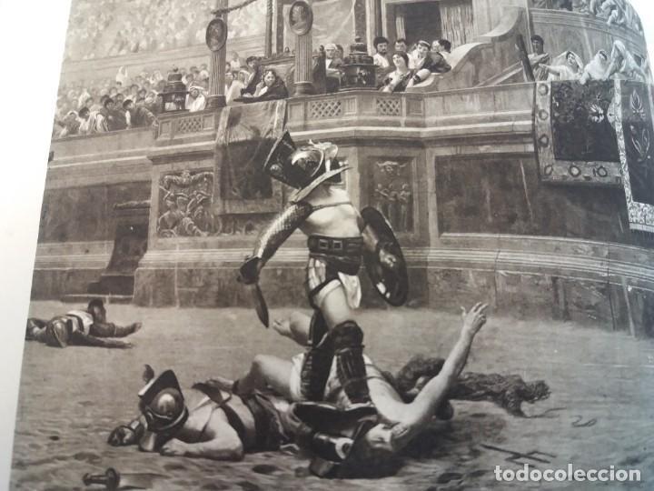 Libros antiguos: FABULOSO LIBRO DE FOTOLITOGRAFIAS ROMA 130 TAVOLE 100 AÑOS - Foto 53 - 237906240