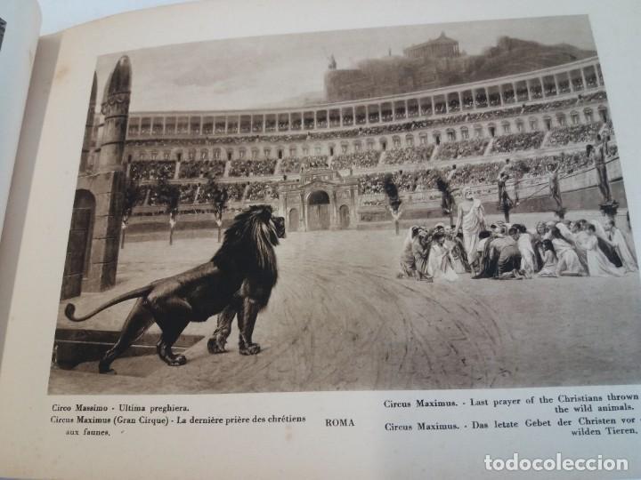 Libros antiguos: FABULOSO LIBRO DE FOTOLITOGRAFIAS ROMA 130 TAVOLE 100 AÑOS - Foto 54 - 237906240