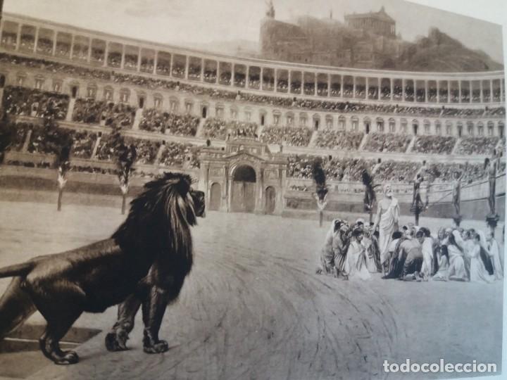 Libros antiguos: FABULOSO LIBRO DE FOTOLITOGRAFIAS ROMA 130 TAVOLE 100 AÑOS - Foto 55 - 237906240