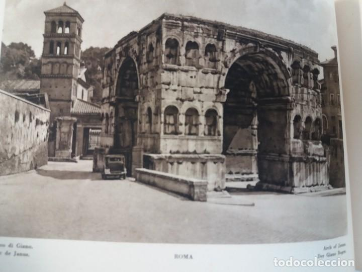 Libros antiguos: FABULOSO LIBRO DE FOTOLITOGRAFIAS ROMA 130 TAVOLE 100 AÑOS - Foto 56 - 237906240