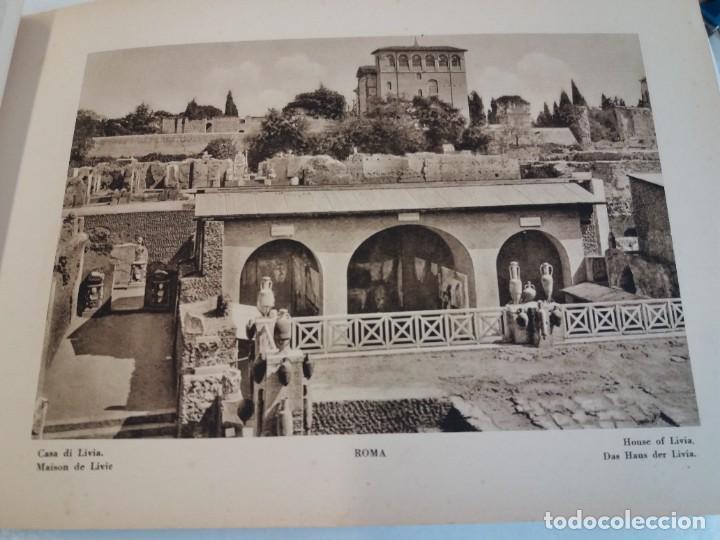Libros antiguos: FABULOSO LIBRO DE FOTOLITOGRAFIAS ROMA 130 TAVOLE 100 AÑOS - Foto 57 - 237906240