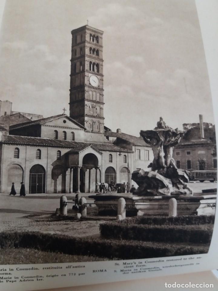 Libros antiguos: FABULOSO LIBRO DE FOTOLITOGRAFIAS ROMA 130 TAVOLE 100 AÑOS - Foto 58 - 237906240