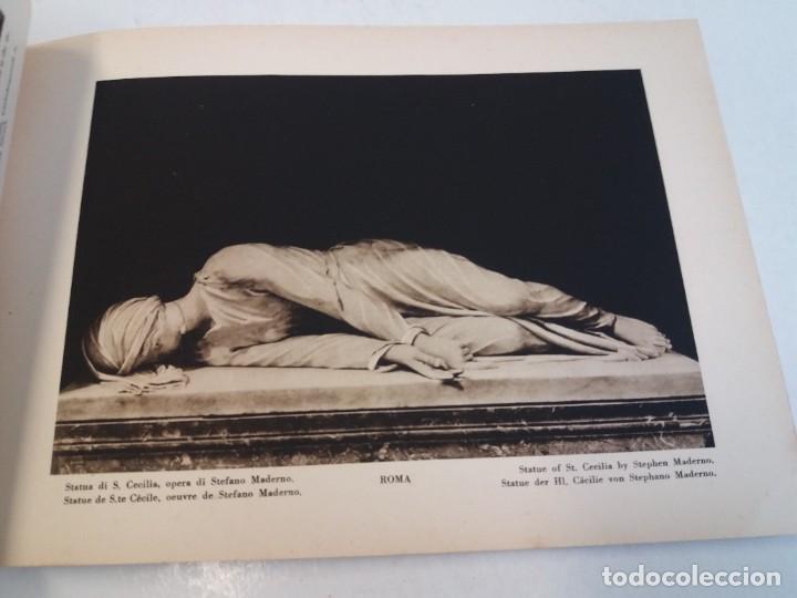 Libros antiguos: FABULOSO LIBRO DE FOTOLITOGRAFIAS ROMA 130 TAVOLE 100 AÑOS - Foto 59 - 237906240