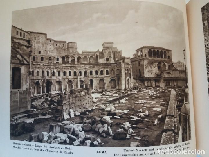 Libros antiguos: FABULOSO LIBRO DE FOTOLITOGRAFIAS ROMA 130 TAVOLE 100 AÑOS - Foto 62 - 237906240