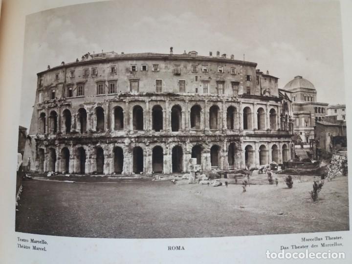 Libros antiguos: FABULOSO LIBRO DE FOTOLITOGRAFIAS ROMA 130 TAVOLE 100 AÑOS - Foto 65 - 237906240