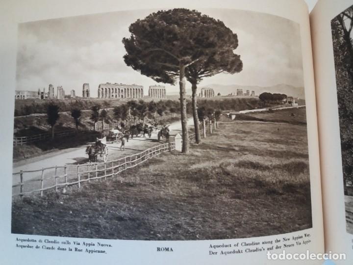 Libros antiguos: FABULOSO LIBRO DE FOTOLITOGRAFIAS ROMA 130 TAVOLE 100 AÑOS - Foto 68 - 237906240