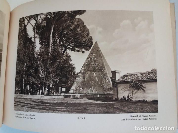Libros antiguos: FABULOSO LIBRO DE FOTOLITOGRAFIAS ROMA 130 TAVOLE 100 AÑOS - Foto 69 - 237906240