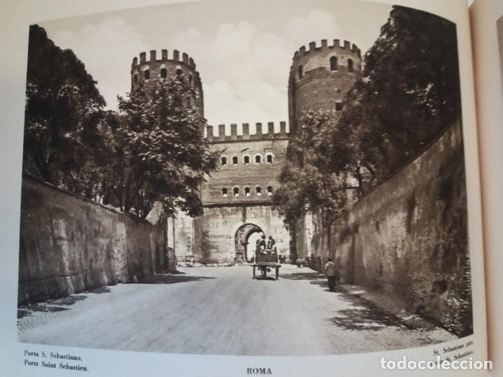 Libros antiguos: FABULOSO LIBRO DE FOTOLITOGRAFIAS ROMA 130 TAVOLE 100 AÑOS - Foto 70 - 237906240