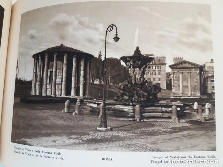 Libros antiguos: FABULOSO LIBRO DE FOTOLITOGRAFIAS ROMA 130 TAVOLE 100 AÑOS - Foto 71 - 237906240
