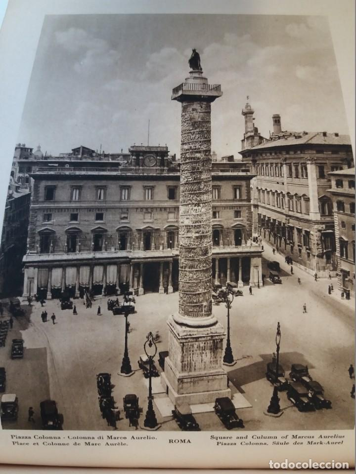 Libros antiguos: FABULOSO LIBRO DE FOTOLITOGRAFIAS ROMA 130 TAVOLE 100 AÑOS - Foto 74 - 237906240