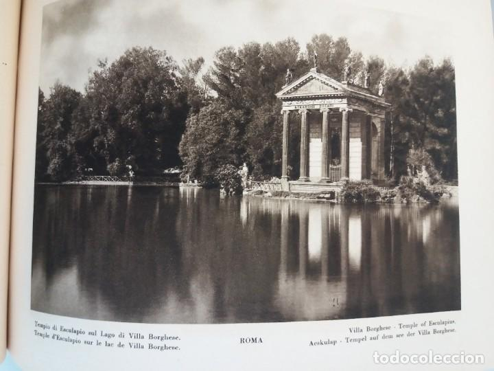 Libros antiguos: FABULOSO LIBRO DE FOTOLITOGRAFIAS ROMA 130 TAVOLE 100 AÑOS - Foto 84 - 237906240