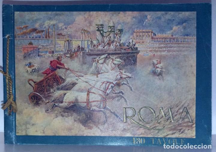Libros antiguos: FABULOSO LIBRO DE FOTOLITOGRAFIAS ROMA 130 TAVOLE 100 AÑOS - Foto 95 - 237906240