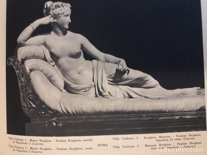 Libros antiguos: FABULOSO LIBRO DE FOTOLITOGRAFIAS ROMA 130 TAVOLE 100 AÑOS - Foto 135 - 237906240