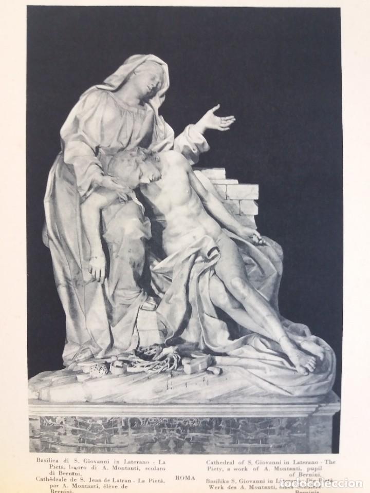 Libros antiguos: FABULOSO LIBRO DE FOTOLITOGRAFIAS ROMA 130 TAVOLE 100 AÑOS - Foto 140 - 237906240