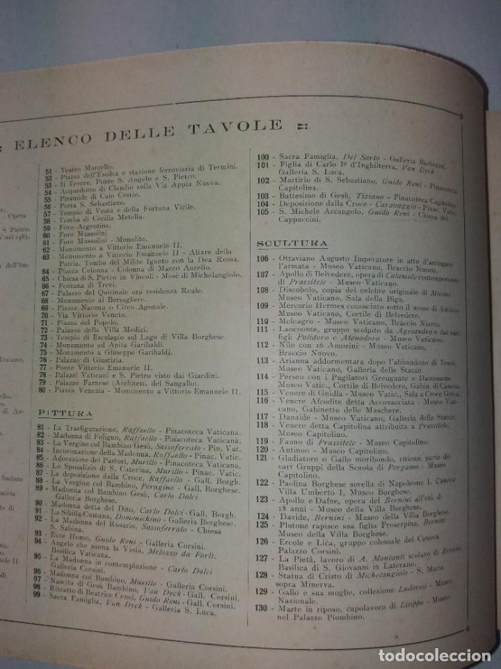 Libros antiguos: FABULOSO LIBRO DE FOTOLITOGRAFIAS ROMA 130 TAVOLE 100 AÑOS - Foto 147 - 237906240