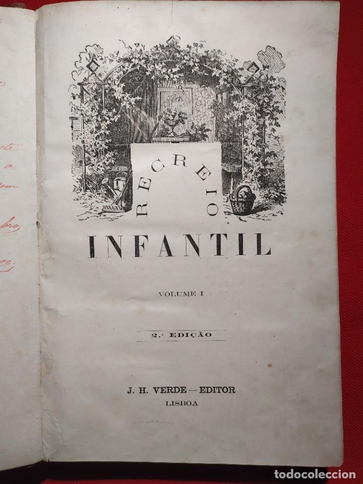Libros antiguos: 1876. Biblioteca de Educaçao e Recreio. Completo. Raro. - Foto 2 - 238104215