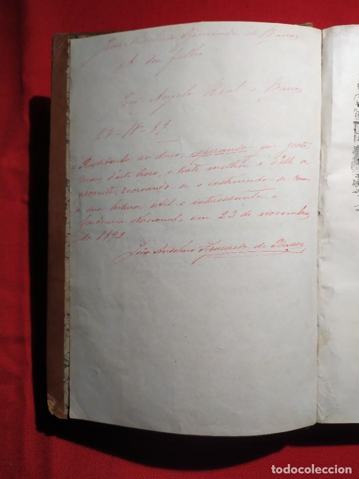 Libros antiguos: 1876. Biblioteca de Educaçao e Recreio. Completo. Raro. - Foto 3 - 238104215