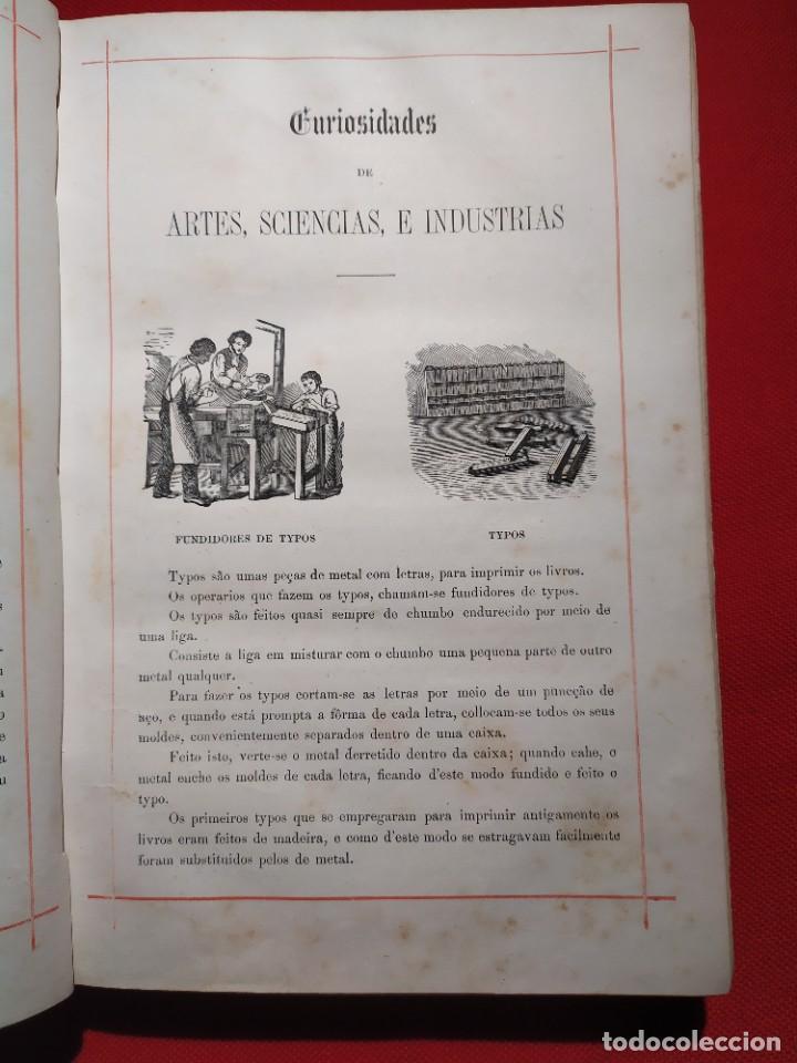 Libros antiguos: 1876. Biblioteca de Educaçao e Recreio. Completo. Raro. - Foto 6 - 238104215