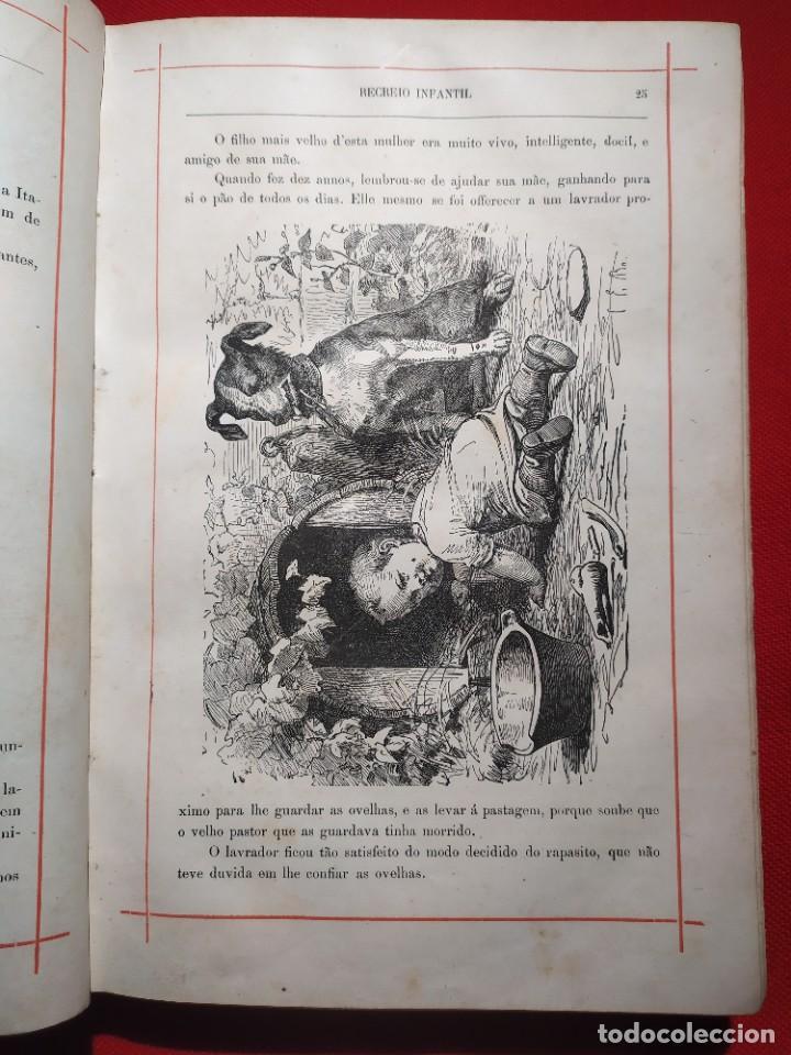 Libros antiguos: 1876. Biblioteca de Educaçao e Recreio. Completo. Raro. - Foto 8 - 238104215
