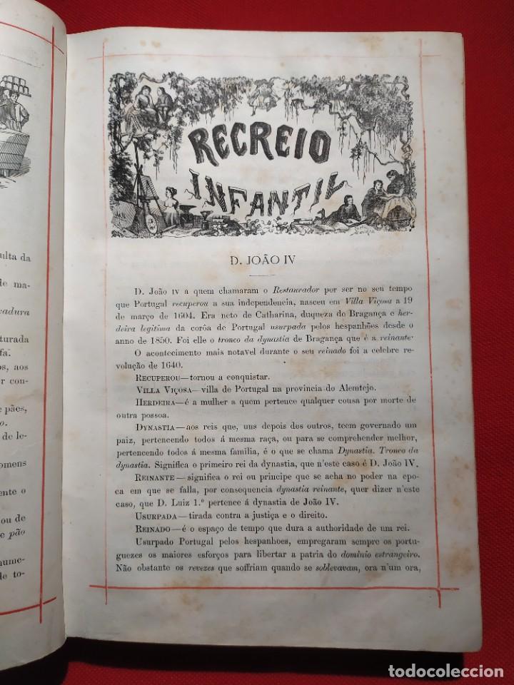 Libros antiguos: 1876. Biblioteca de Educaçao e Recreio. Completo. Raro. - Foto 9 - 238104215