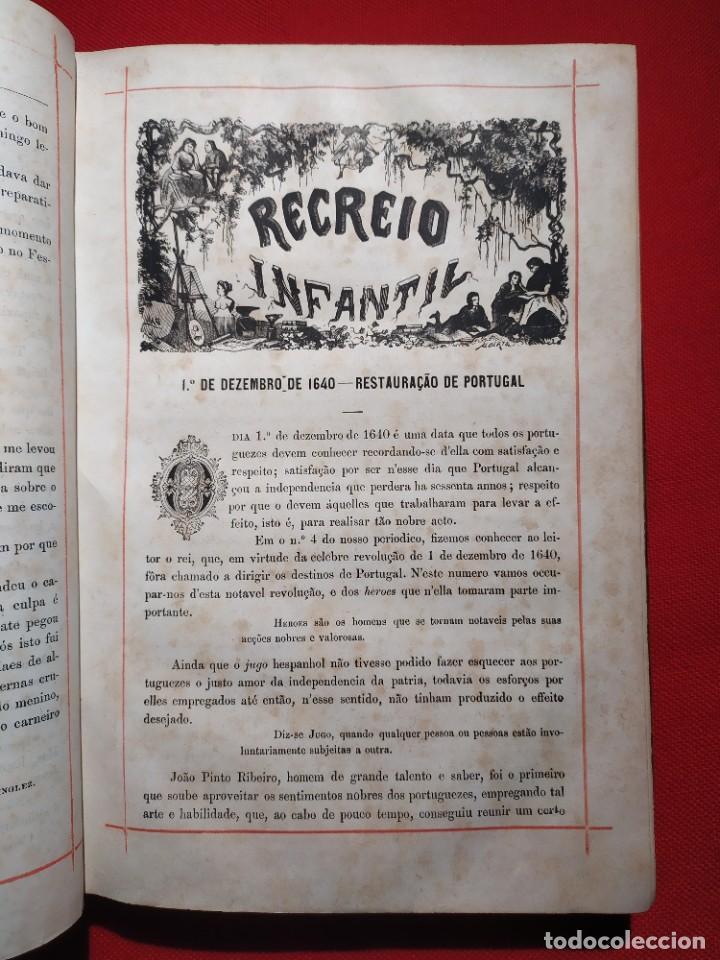Libros antiguos: 1876. Biblioteca de Educaçao e Recreio. Completo. Raro. - Foto 10 - 238104215