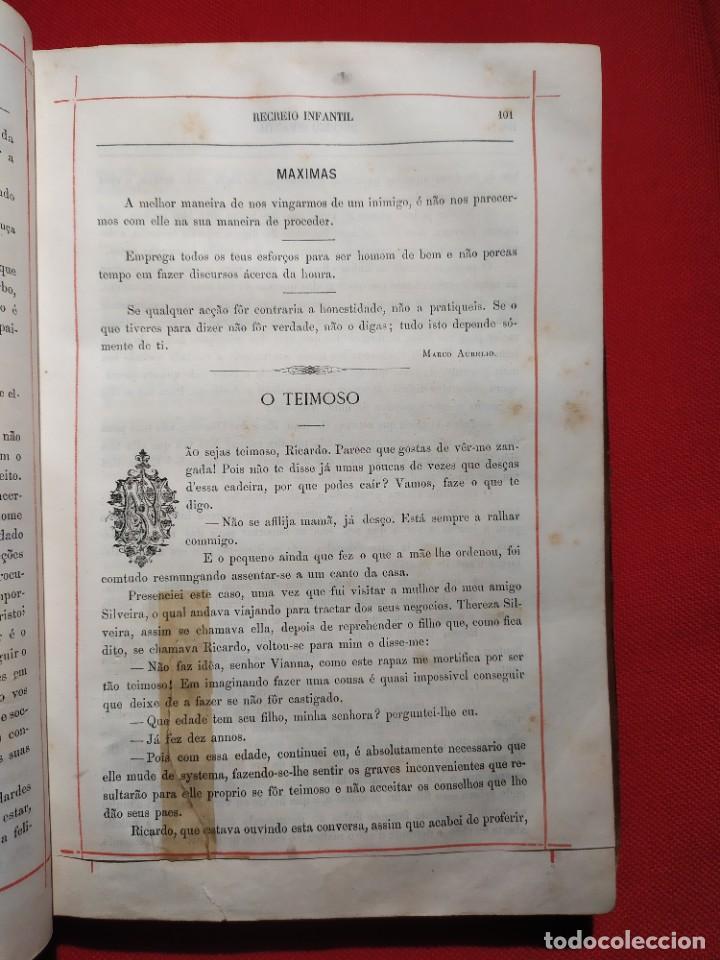 Libros antiguos: 1876. Biblioteca de Educaçao e Recreio. Completo. Raro. - Foto 12 - 238104215