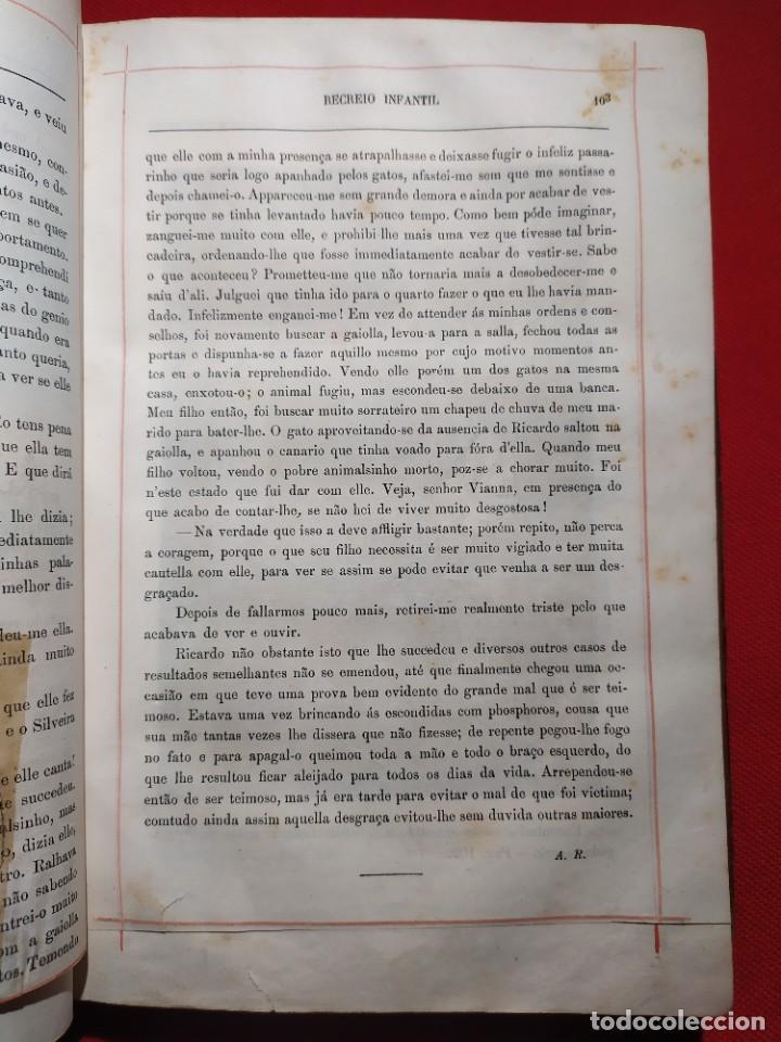 Libros antiguos: 1876. Biblioteca de Educaçao e Recreio. Completo. Raro. - Foto 13 - 238104215