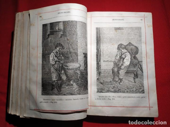 Libros antiguos: 1876. Biblioteca de Educaçao e Recreio. Completo. Raro. - Foto 14 - 238104215