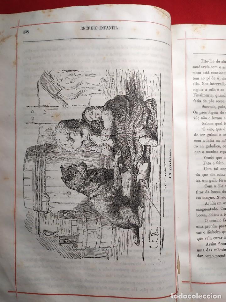 Libros antiguos: 1876. Biblioteca de Educaçao e Recreio. Completo. Raro. - Foto 16 - 238104215