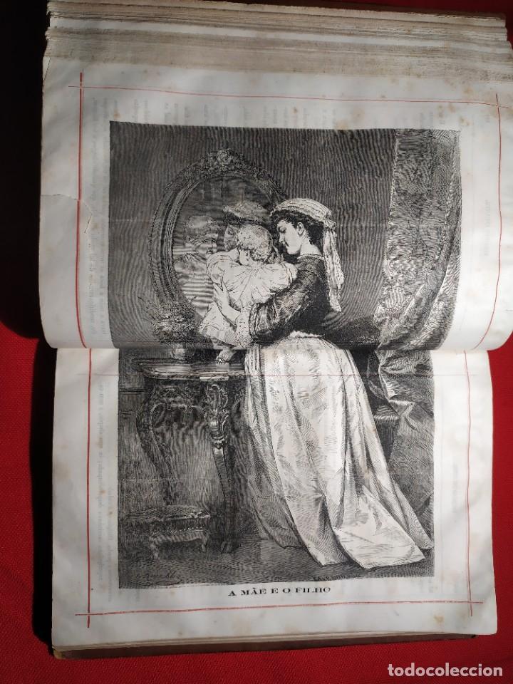 Libros antiguos: 1876. Biblioteca de Educaçao e Recreio. Completo. Raro. - Foto 19 - 238104215
