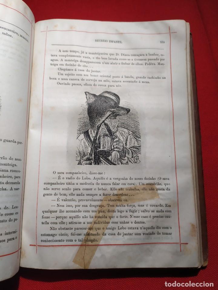 Libros antiguos: 1876. Biblioteca de Educaçao e Recreio. Completo. Raro. - Foto 21 - 238104215
